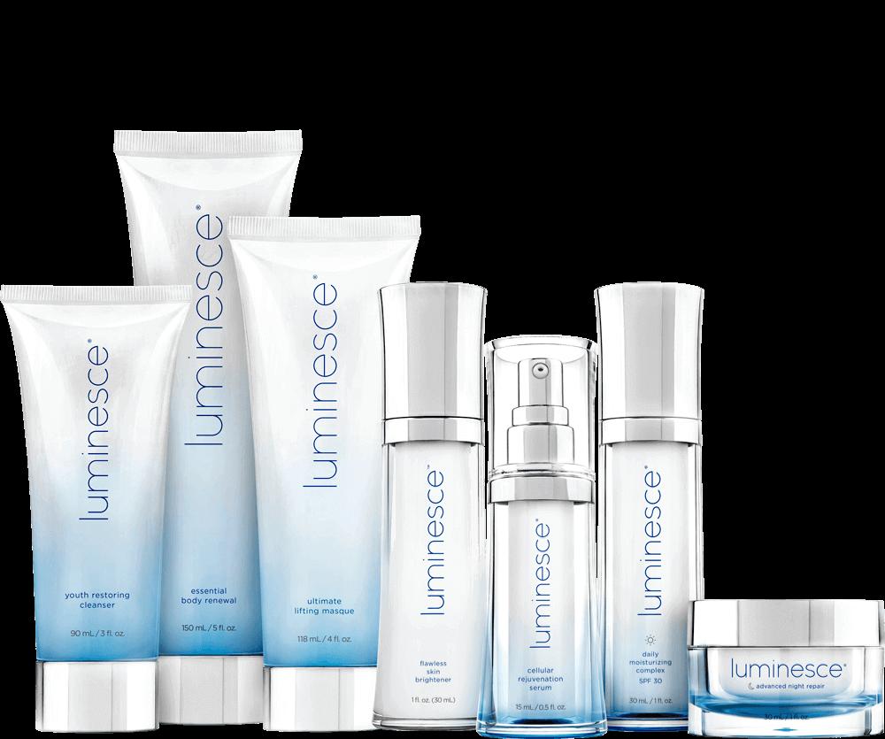 Jeunesse Global Luminesce Skin Care Products