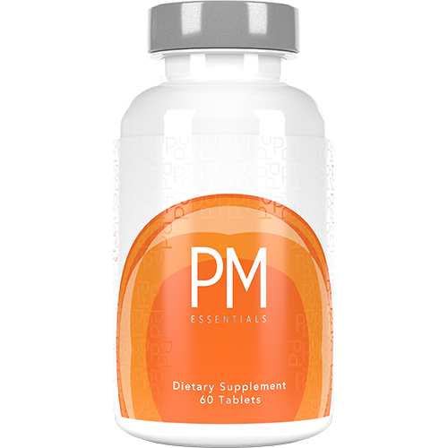 PM Essentials Product Image with Ingredients