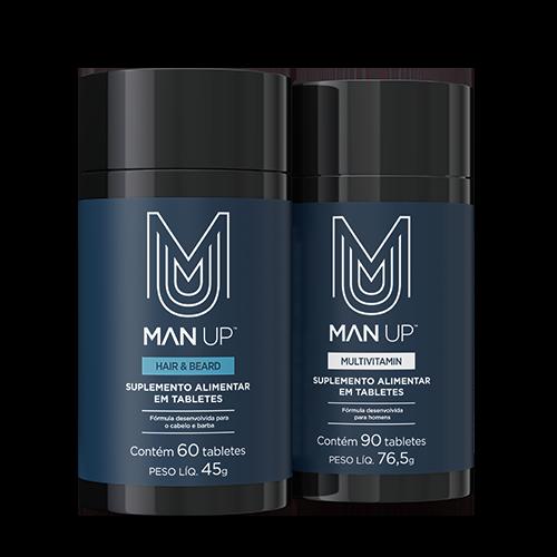 Man Up Premium Men's Supplements